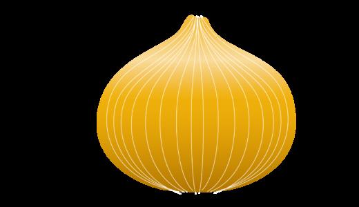 ホール玉ねぎのイラスト