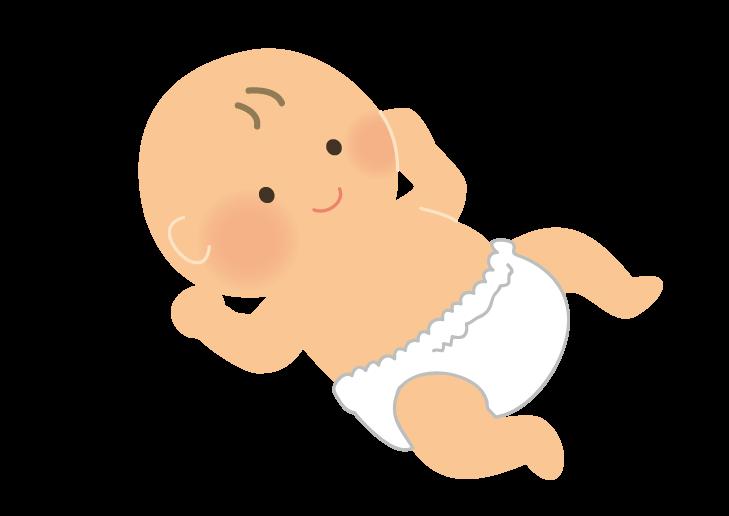 赤ちゃんのイラスト イラスト本舗