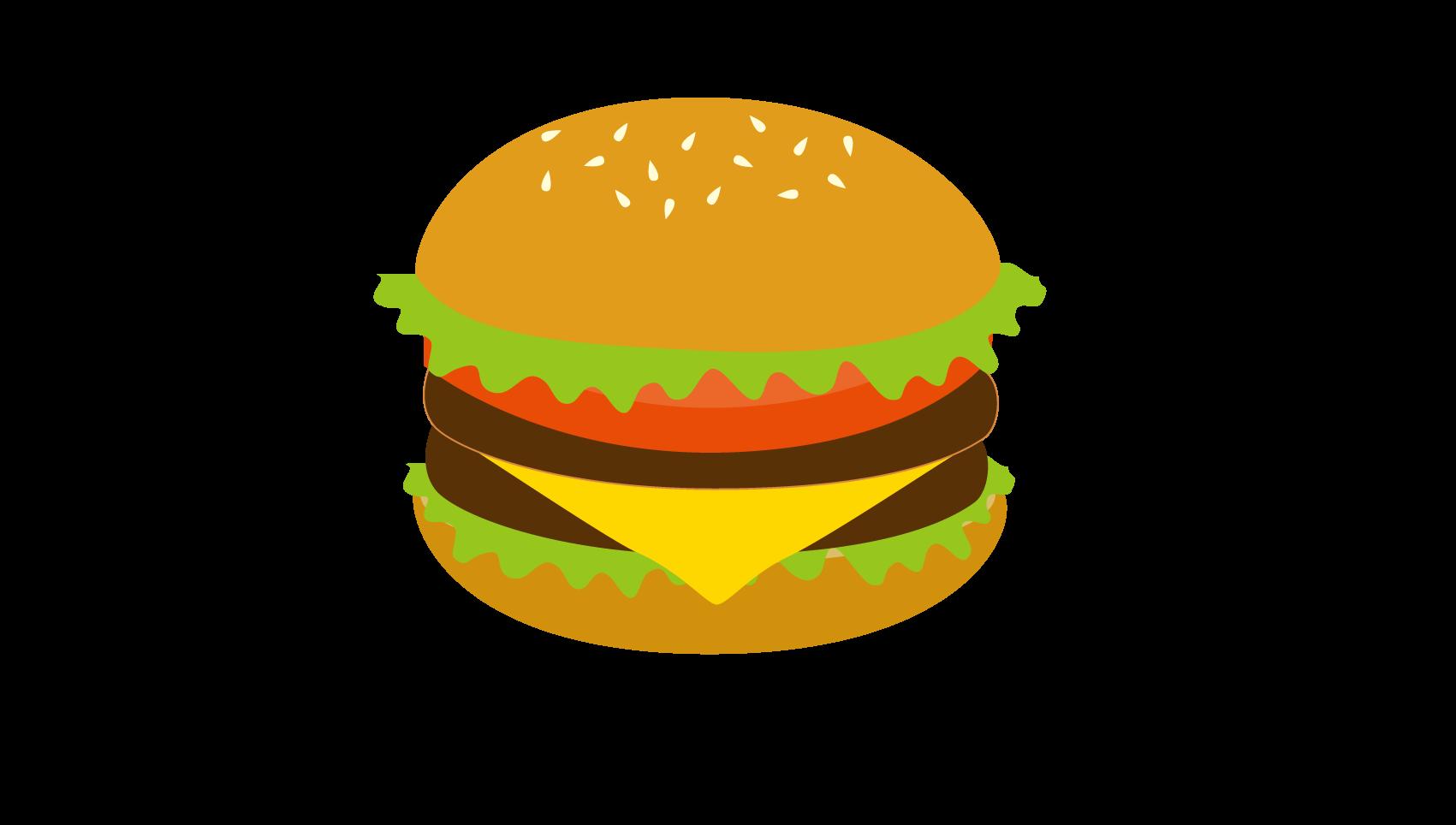 ハンバーガーのイラスト イラスト本舗
