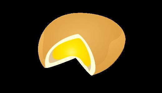 クリームパンのイラスト