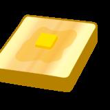 溶けたバターのトースト