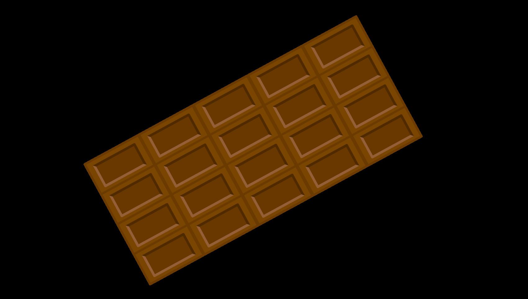 板チョコのイラスト イラスト本舗