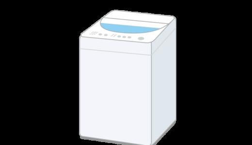 洗濯機(ドラム式洗濯乾燥機)のイラスト