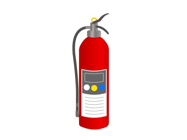 消火器のイラスト