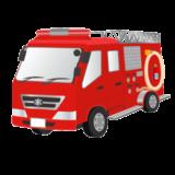 消防車 イラスト