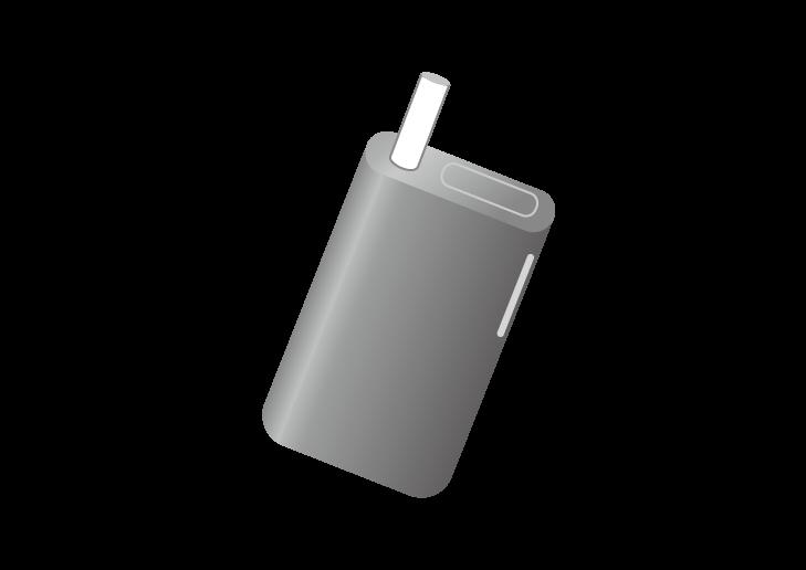 電子タバコのイラスト