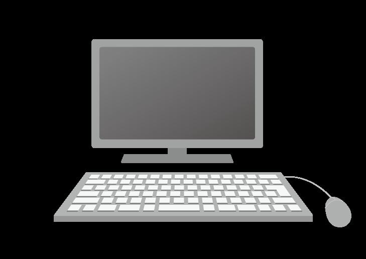 デスクトップパソコンのイラスト イラスト本舗
