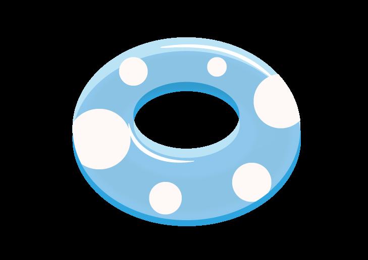 浮き輪のイラスト イラスト本舗