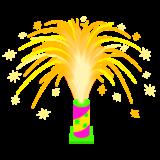 置型花火のイラスト