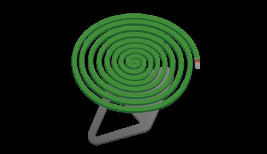 蚊取り線香のイラスト