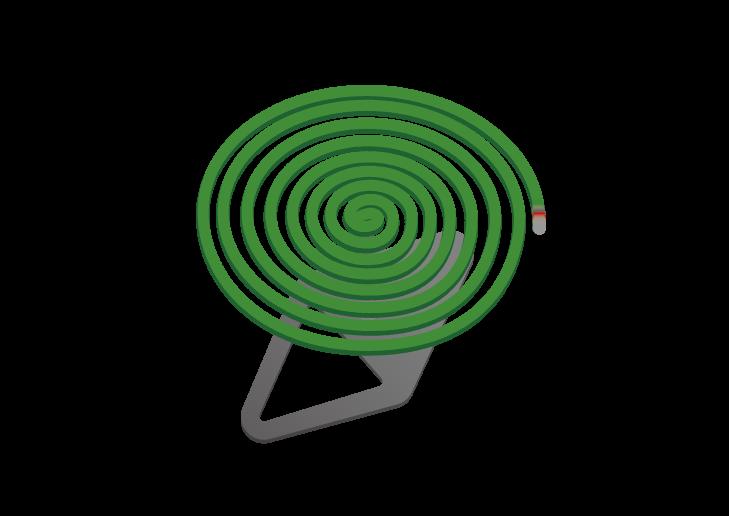 蚊取り線香のイラスト イラスト本舗