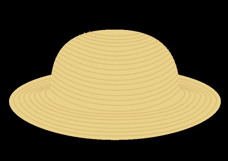 麦わら帽子のイラスト イラスト本舗
