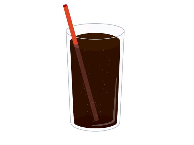 コーラのイラスト イラスト本舗