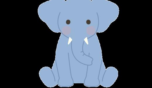ゾウのイラスト