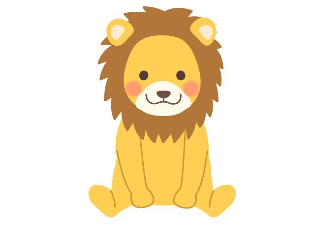 ライオンのイラスト イラスト本舗
