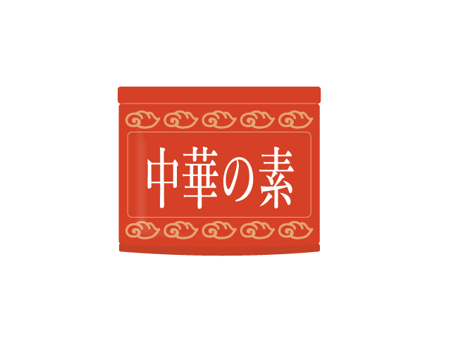 中華調味料のイラスト