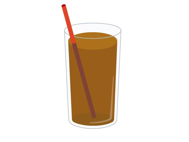 烏龍茶のイラスト