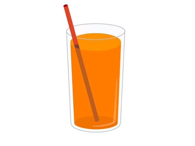 野菜ジュースのイラスト