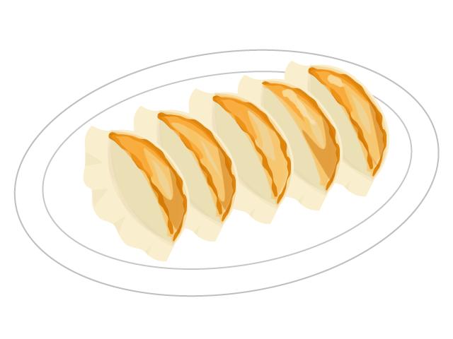餃子のイラスト イラスト本舗