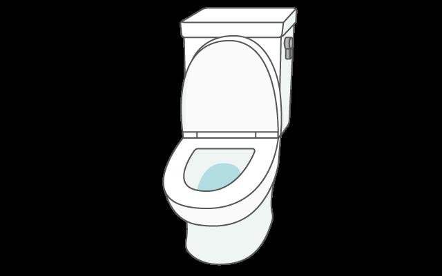 洋式トイレのイラスト