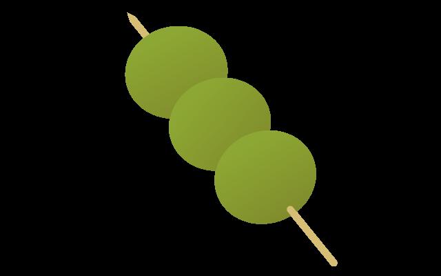 茶団子のイラスト イラスト本舗