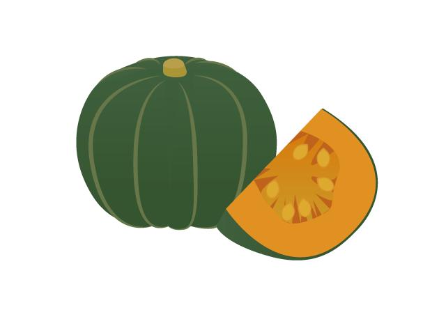 かぼちゃのイラスト イラスト本舗