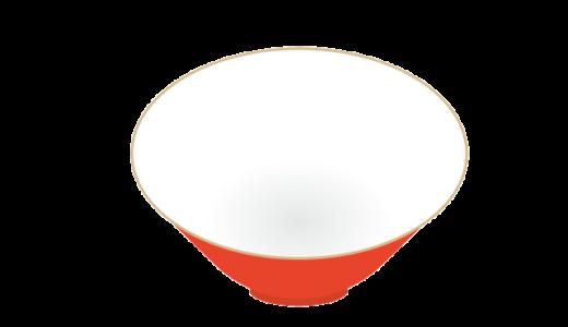ラーメンの器のイラスト