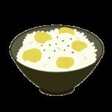栗ご飯のイラスト