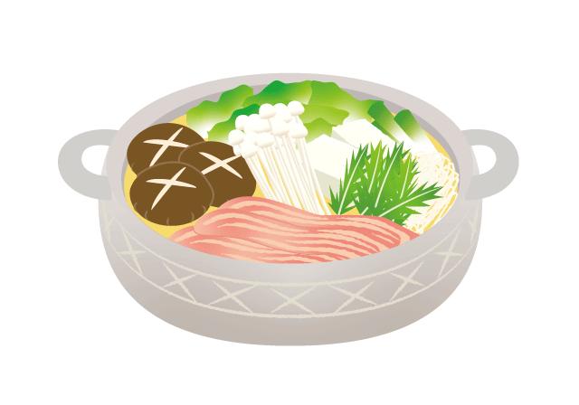 お鍋のイラスト イラスト本舗