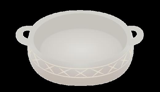 空のお鍋のイラスト