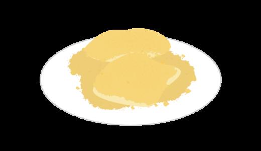 きな粉餅のイラスト