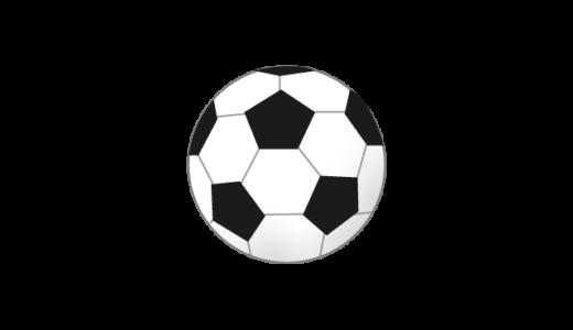 サッカー(ボール)のイラスト
