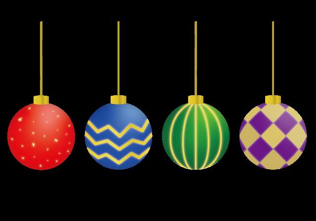 クリスマスオーナメントのイラスト イラスト本舗